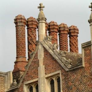 Dom Henryka VIII, króla Anglii - Hampton Court Palace - 1530 r. (fot. Jonathan Cardy)
