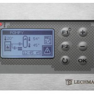 Mikroprocesorowy regulator z wyświetlaczem graficznym. fot. Lechma