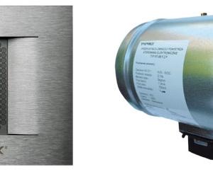 Mikroprocesowy regulator z wyświetlaczem graficznym / przepustnica powietrza (fot. Tatarek)