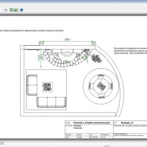 Projekt  posiada nie tylko wymiary poszczególnych elementów, ale także przydatne opisy i komentarze do nich. (il. Damaro)