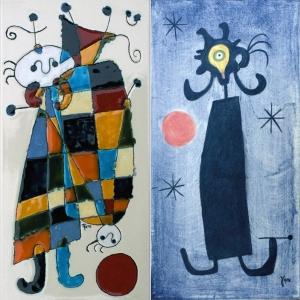 Kafle inspirowane twórczością Miró, fot. Kafel-Art