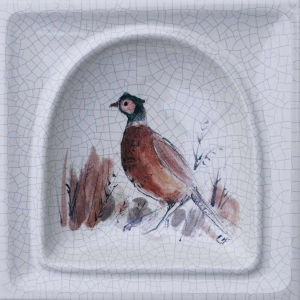 Przykład malarstwa wszkliwnego (majolika) fot. Kafel-Art