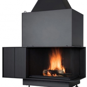 Kominek Urfeur - blisko żywego ognia
