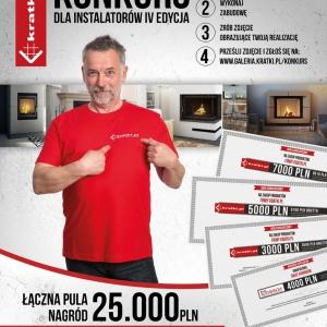 "Konkurs Kratki.pl - ""Zachwyć realizacją kominka"""
