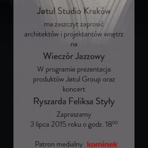 Wieczór Jazzowy w Jotul Studio Kryspinów