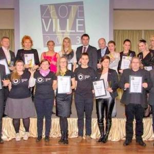 """""""Złote Ville 2013"""" dla Kominki-Kozłowski"""