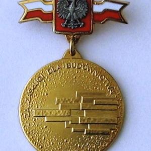 """Odznaka """"Za Zasługi dla Budownictwa"""""""
