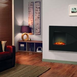 Burbank i Redway - nowoczesne kominki naścienne