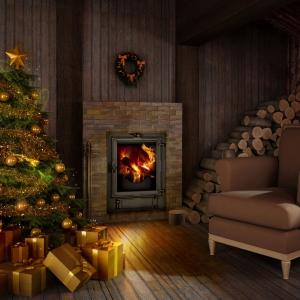Święta przy kominku Makroterm