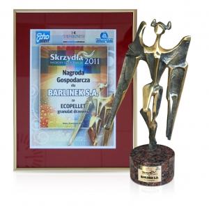 Nagroda dla barlineckiego Ecopelletu