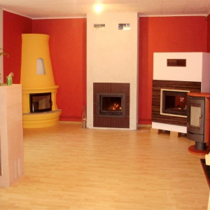 Nowy salon kominkowy Redfire