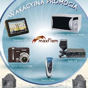 Maxflam - promocja wakacyjna