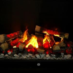 """""""Żywy"""" ogień? Nie to niesamowity kominek elektryczny Opti-Myst"""