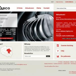 Nowa strona internetowa Darco