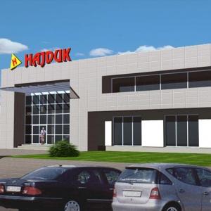 Modernizacja salonu Hajduk