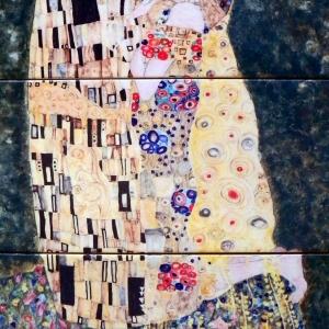 Ręcznie malowane kafle - obrazy