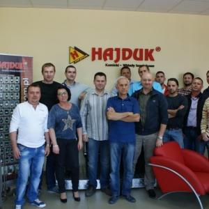 Szkolenia serwisowe Hajduk 03.10.2014