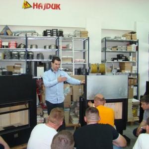 Szkolenia serwisowe Hajduk 25.04 i 23.05.2014 r.