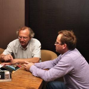 Gérard Pitance i Paweł Kralka