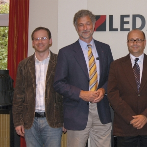 Od lewej: Paweł Kralka, Folkmar Ukena Krzysztof Kurkowski