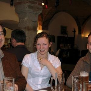Ulrich Brunner, Ilona Łuczak (Brunner), Paweł Kralka (Kominek)