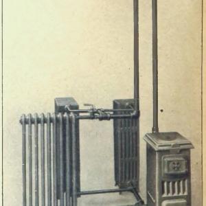 Uproszczony schemat ogrzewania opublikowany w czasopiśmie Deutsche Bauzeitung 1926 r.
