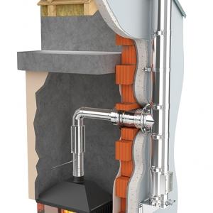 System kominów stalowych żaroodpornych DARCO SKDŻ