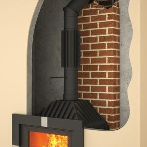 System przyłączy kominowych z czarnych blach stalowych DARCO SPK