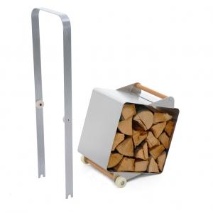 Stojak na drewno Bubo. fot. Bubo