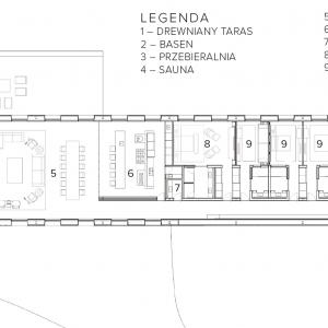 Plan parteru Mororó House, il. mk27