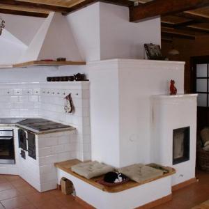 Kombajn kuchenny z piecem