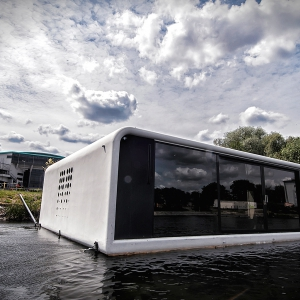 Dom na wodzie, Bydgoszcz, Polska, zdjęcie Floatinghouses.eu