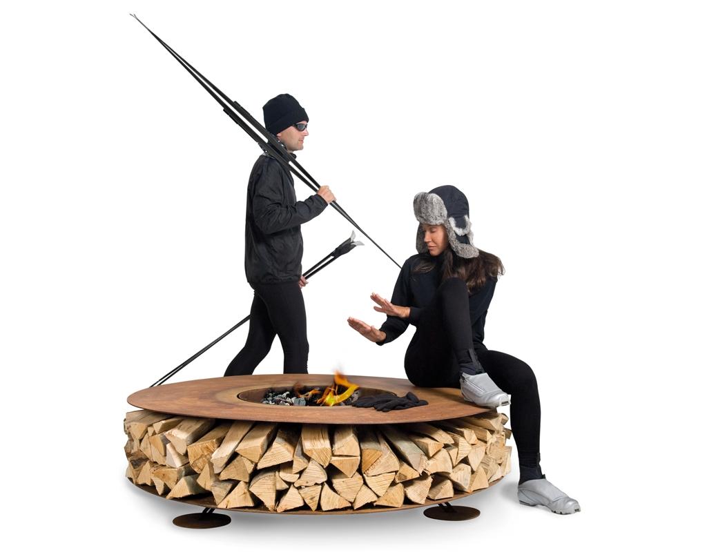 Wyeksponować drewno