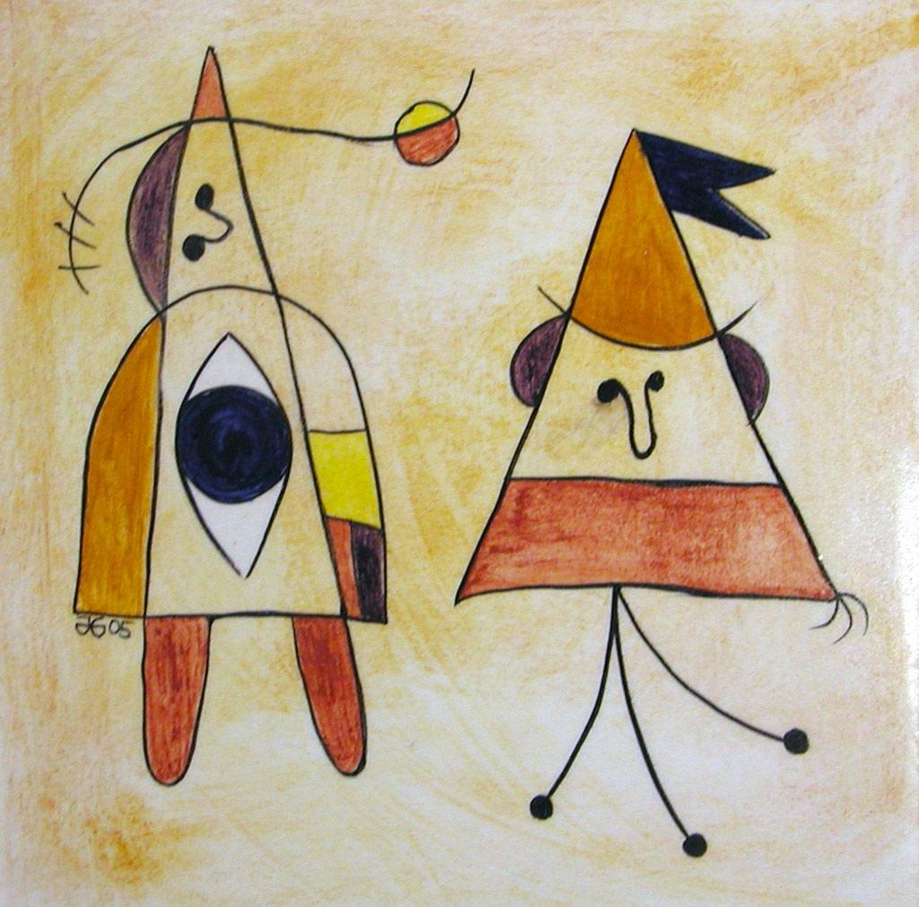 Inspiracje - Joan Miró
