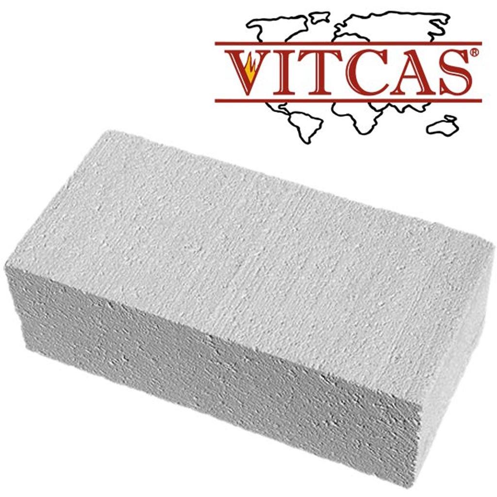 Izolacyjne cegły ogniotrwałe Vitcas