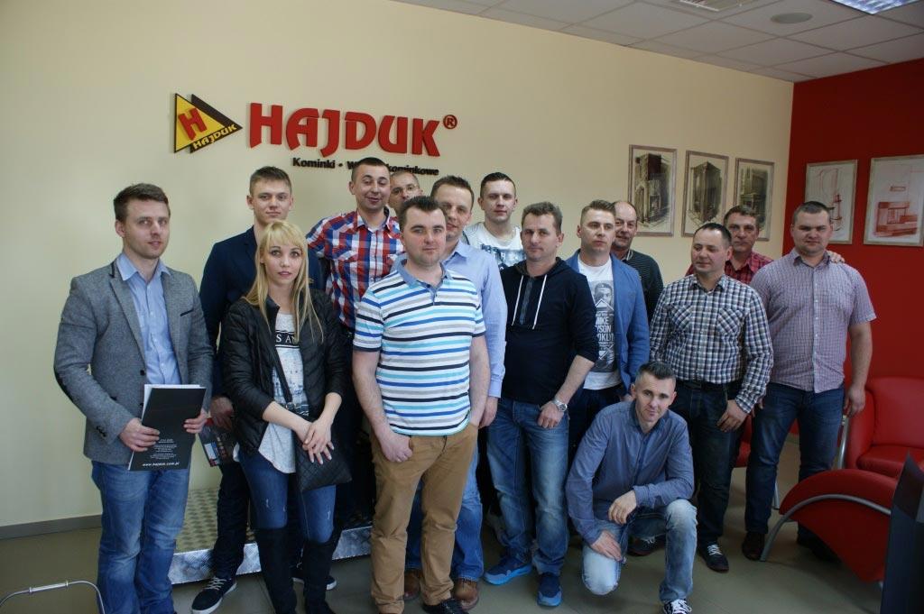 Szkolenia serwisowe Hajduk 10.04.2015