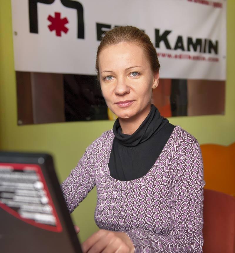 Włoski makaron i książka przy kominku - Kamila Stasierowska - Wróbel