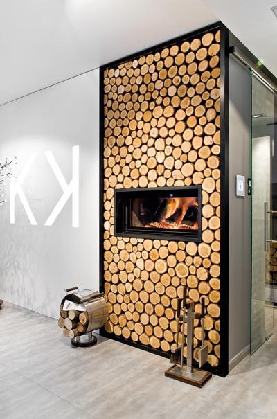 Salon kominkowy -  marzenie architekta