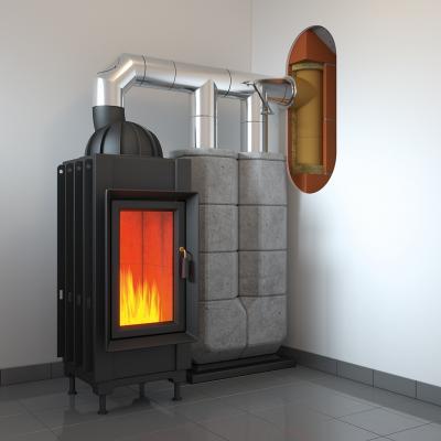 System kominowy do kominków i pieców akumulacyjnych