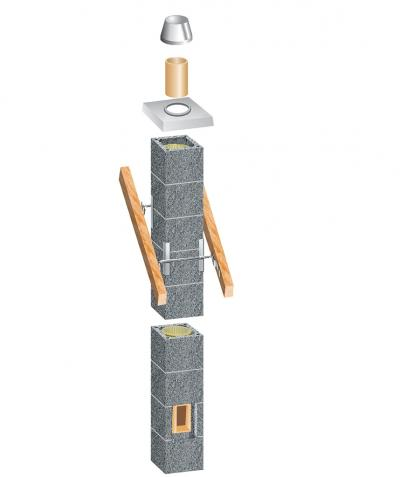 Systemowe  kominy  ceramiczne - jak uniknąć błędów przy budowie