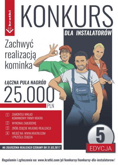 Konkurs Kratki.pl dla instalatorów