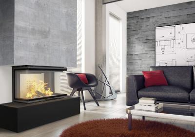 Ogień w 3D – wkład kominkowy NBC