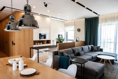 Dobre relacje - apartament z minimalistyczną linią